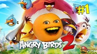 Annoying Orange Plays - Angry Birds 2 #1