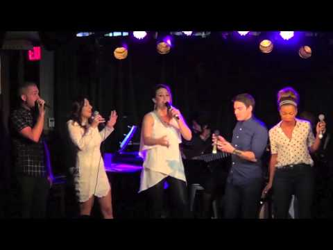 Natalie Weiss, Luke Edgemon, Shoshana Bean, John Pinto Jr., & India Carney - \