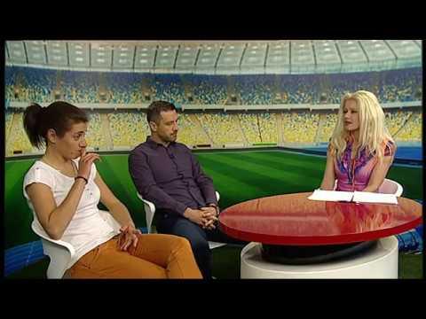 Izbornik Božidar Miletić i reprezentativka Maja Joščak u Malim nogometnim razgovorima