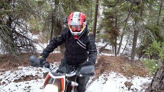 4. KTM 690 Enduro Vlog Ep 5   Hill Climbs & Tire Testing