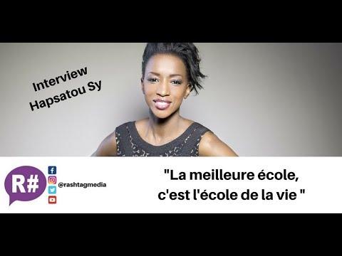 Entrepreneuriat, Canal Plus, réseaux sociaux : Interview Hapsatou Sy