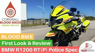4. BMW 1200 RT P (Police Spec) Blood Bike - Ride and Review