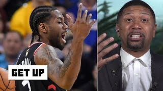Kawhi dunking in Game 3 makes Jalen Rose doubtful that Kevin Durant can save the Warriors   Get Up