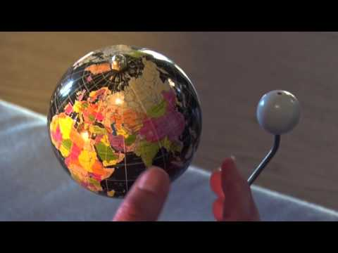24 Hour Day or Night at the Poles (Montessori Geography Experiment)