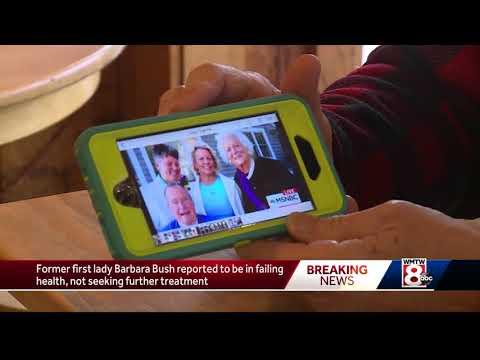 Kennebunkport reacts to Barbara Bush news