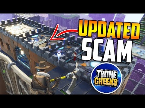 *NEW SCAM* Jump THROUGH Roof TRAP Scam! It's BACK BEWARE!!   Fortnite Save The World