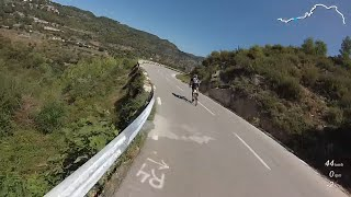Bigues Spain  City pictures : Cycling in Catalonia Spain - Sant Feliu - Bigues BP-1432 - Ciclismo en Cataluña España
