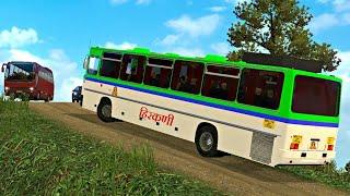 Video Hirkani Bus driving   Euro truck simulator 2   ETS2   MSRTC bus driving   + Ashok Leyland bus mod MP3, 3GP, MP4, WEBM, AVI, FLV Juni 2018