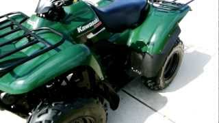 6. 2007 Kawasaki Prairie 360 4X4 in Woodsman Green