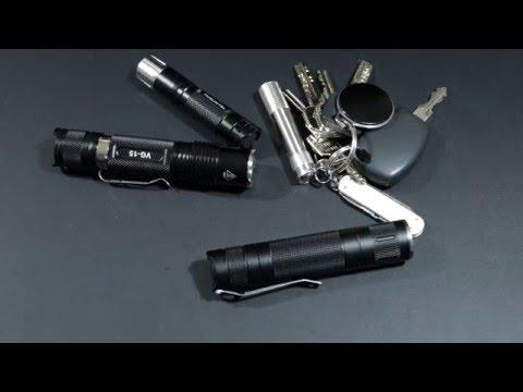ThorFire TS07 - EDC LED Taschenlampe   DQG AAA Mini