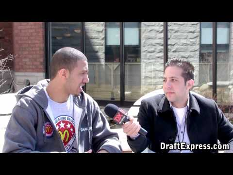 Kendall Marshall Interview & Practice Highlights - 2010 McDonald's All American Game