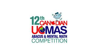 UCMAS Competition Intro 2017 28 Sec