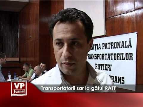 Transportatorii sar la gâtul RATP
