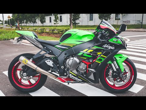 MODTOR - KAWASAKI ZX10R 2018 + OZRACING + ARROW EXHAUST *HEDON*