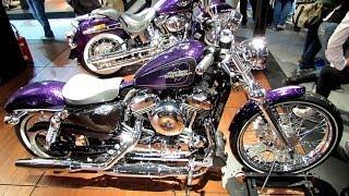 5. 2014 Harley-Davidson Sportster Seventy Two XL1200V Walkaround - 2013 EICMA Milan Motorcycle Exibitio