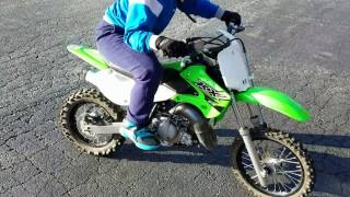 1. Top speed  runs on the 2017 kawasaki kx65( With Nathan and Lover boy)