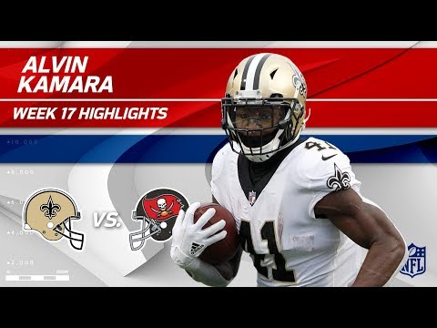 Video: Alvin Kamara Highlights | Saints vs. Buccaneers | Wk 17 Player Highlights