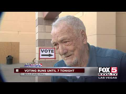 Thousands head to polls to vote on Election Day in Nevada