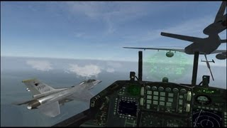 F16 jet fighter YouTube video
