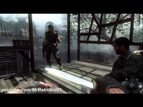 preview-Call of Duty: Black Ops Walkthrough Part 14 - Mission 9 (Victor Charlie 1/2) [HD] (MrRetroKid91)