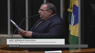 Frente Parlamentar com Deputado Romulo Gouveia