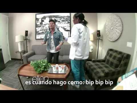 Bruno Mars Broma Ellen DeGeneres