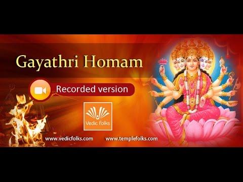 Gayathri Homam (видео)