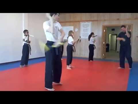 Hampton's Karate Academy - Nunchucku Practice 01
