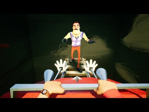 ANOTHER ROLLERCOASTER!? | Hello Neighbor [Full Release] Act 2 (видео)