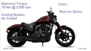 10. Harley Davidson Iron 883 - Price & Specification