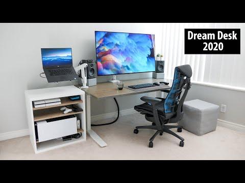 Dream Desk Setup 5.0 |  Big Screen Productivity and Gaming