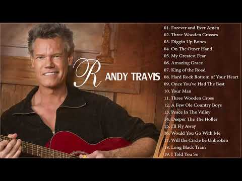 Randy Travis Greatest Hits Full Album || The Very Best Of Randy Travis 2018