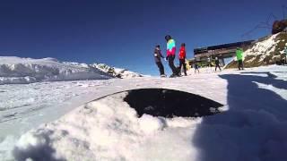 Ein Tag beim Snowboarden in Hochzillertal - made with a GoPro 3