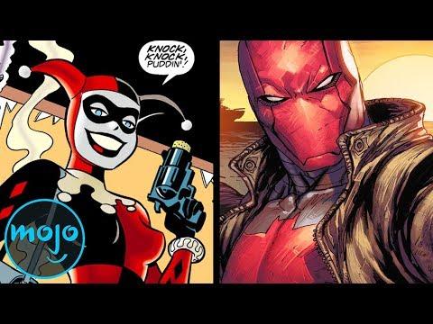 Top 10 DC Comic Book Antiheroes