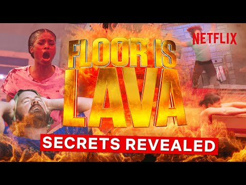 Floor Is Lava Revealed - The Secrets of How They Make The Show | Netflix