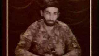 The Georgian general leading the invading forces in the autumn of 1992, Gia Karkarashvili, stated on TV that he would sacrifice...