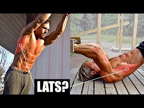 Can You Train LATS Without Weights/Machines/Pull Ups/Rows? 5-10 LAT Exercises