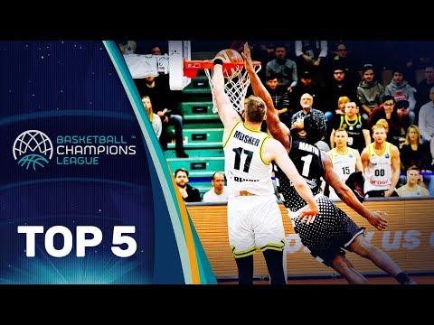 Basketball Champions League: Martin al secondo posto nella Top 5 di giornata