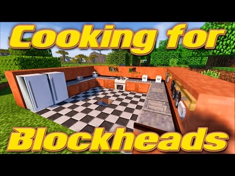 COOKING FOR BLOCKHEADS   Minecraft 1.11.2 Mod Showcase & Tutorial   Feat. Pam's Harvestcraft