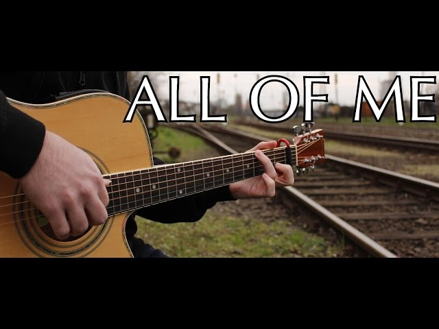 John Legend All Of Me Fingerstyle Guitar Cover By Peter Gergely With Tabs : Mp3FordFiesta.com