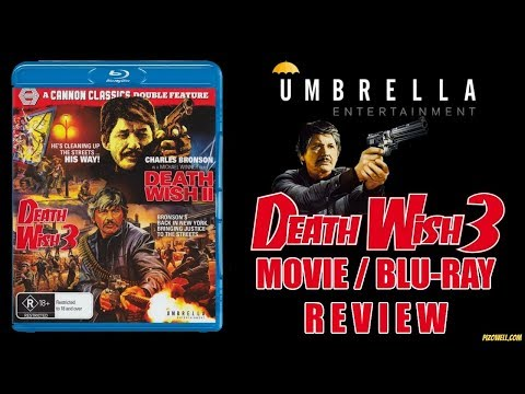 DEATH WISH 3 (1985) - Movie/Blu-ray Review (Umbrella Entertainment)