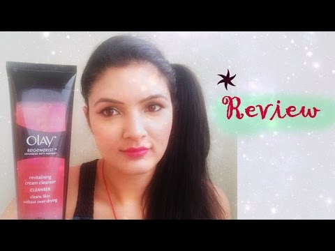 Review - Olay Regenerist anti aging cleansing cream