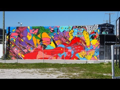 Wynwood Art District: Before and After