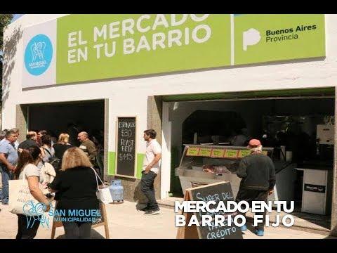 Nuevo Mercado en tu Barrio Fijo