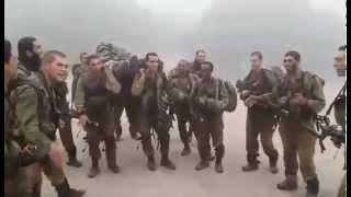 Ethiopian Origin Israeli Soldier Singing