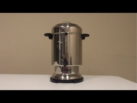 How to Make Coffee in a Large Percolator, Large Coffee Pot, Large Coffee Maker Urn