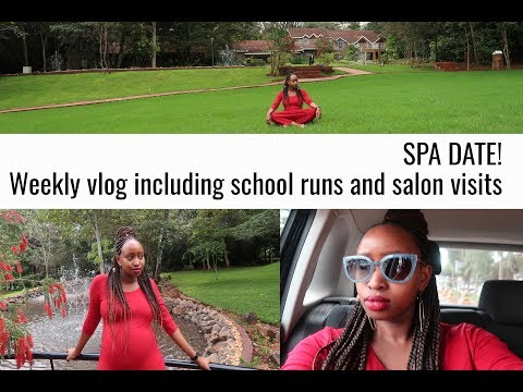 SPA DATE! Weekly Vlog including school runs and salon visits (видео)