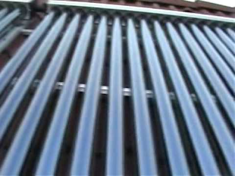 Solarno grejanje - Solarni vakuum kolektori