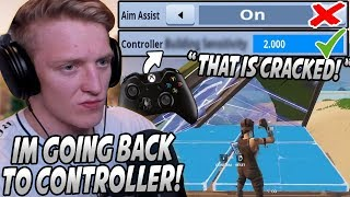 Tfue Reveals Why He's SWITCHING To CONTROLLER After Seeing How