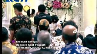 Video Pernikahan Dude & Alyssa - 22 Maret 2014 Ekslusif @dahSyatMusik MP3, 3GP, MP4, WEBM, AVI, FLV Februari 2018